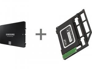 Kit d'installation second disque MacBook Pro Unibody Samsung 870 EVO 1 To DDISAM0166D-20