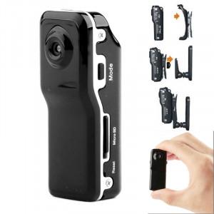 MD80 Appareil photo vidéo mini numérique 3 en 1 POCKET DV avec 720 * 480 pixels, angle de visionnement: 60 degrés (noir) SM0322-20
