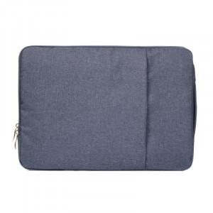 Sac à bandoulière portable universel de mode de 11,6 pouces Sac à bandoulière portatif portable pour ordinateur portable MacBook Air, Lenovo et autres ordinateurs portables, taille: 32,2x21,8x2 cm (bleu foncé) SS010D-20
