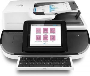 HP Digital Sender Flow 8500fn2 document scanner desktop USB 2.0, Gigabit LAN, USB 2.0 (Host) XP2291951D1333-20