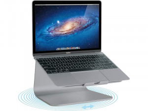 Rain Design mStand 360 Gris sidéral Support rotatif pour MacBook / MacBook Pro MBPRDN0007-20