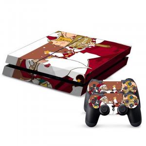Autocollants décoratifs pour la console de jeux PS4 SA021B-20