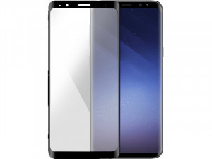 BigBen Verre Trempé Noir Vitre de protection Samsung Galaxy S9+ AMPBBN0009-20