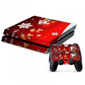 Autocollants décoratifs pour la console de jeux PS4 SA023Y-20