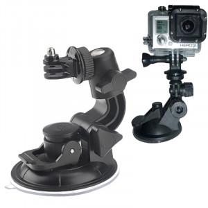 ST-72 9cm Diamètre Car Window Plastic Cup Suction Mount + Gadget pour support de trépied pour GoPro HERO4 / 3+ / 3/2/1 (Noir) SS00440-20