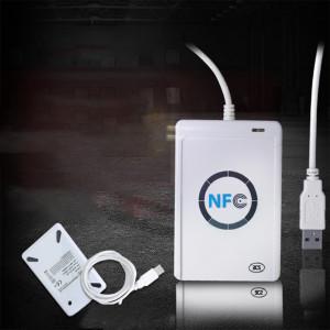 ACR122U Lecteur de carte à puce sans contact RFID avec graveur USB avec lecteur de capteurs Mifare IC Card M1 CA6912632-20