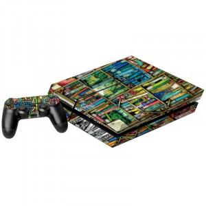 Étiquettes en autocollant pour étagères pour console de jeux PS4 S0016L-20