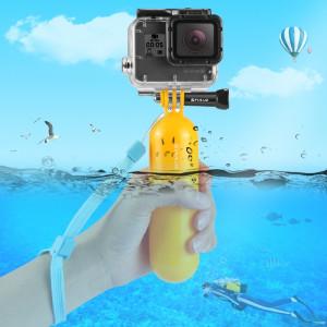 PULUZ Poignée flottante Bobber Poignée à main avec sangle pour GoPro HERO5 Session / 5/4 Session / 4/3 + / 3/2/1 SPPU811-20