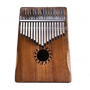 17 Clé Kalimba Pouce Piano Enfants Adultes Acajou Massif Corps Musique Doigt Percussion Clavier C155261127-20