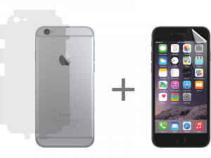 Pack Protection Novodio iPhone 6+/6s Plus Film protection écran + dos/contours IP6NVO0046D-20