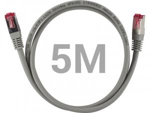 Câble Ethernet RJ-45 SSTP catégorie 6a double blindage 5 m CABGEN0182-20