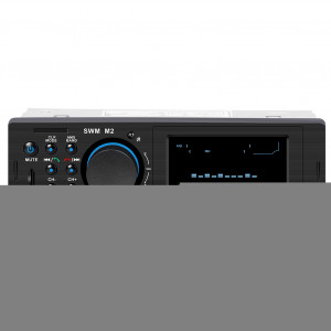 Autoradio SWM M2 Lecteur audio MP3 stéréo Radio FM Bluetooth USB TF Unité principale BT Lecteur de musique noir C0616535-20