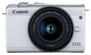 Canon EOS M200 Kit blanc + EF-M 15-45 IS STM 495497-20