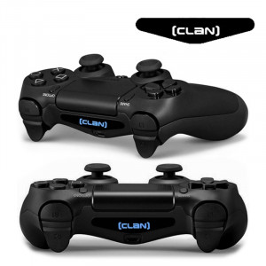 Autocollant autocollant 4 PCS Cool Light Bar Sticker pour PlayStation 4 Controller DualShock 4 SA0132-20