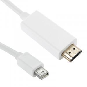 Mini DisplayPort vers HDMI câble mâle, longueur: 1,5 m (blanc) SM0228-20