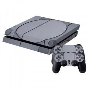 Sticker en peau de protection en peau de protection ronde en peau de peau pour console de jeu PS4 SS786H-20