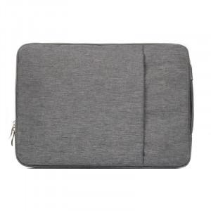 Sac à bandoulière portatif portable universel de 13,3 pouces Sac à bandoulière portable pour ordinateur portable pour MacBook Air / Pro, Lenovo et autres ordinateurs portables, taille: 35.5x26.5x2cm (gris) SS011H-20