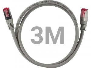 Câble Ethernet RJ-45 SSTP catégorie 6a double blindage 3 m CABGEN0181-20