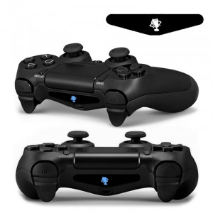 Autocollant autocollant 4 PCS Cool Light Bar Sticker pour PlayStation 4 Controller DualShock 4 SA0154-20