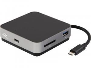 OWC USB-C Travel Dock v2 Gris Sidéral Dock USB-C de poche ACDOWC0049-20