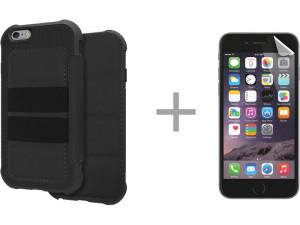 Kit Novodio Anti-Shock Wallet Case + ScreenGuard Evo iPhone 6 Plus / 6s Plus IP6NVO0036D-20