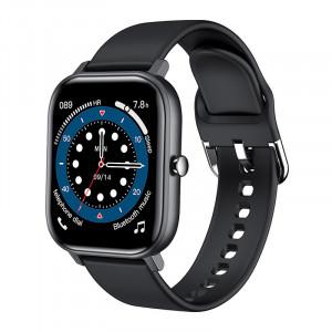 L18 écran couleur bracelet intelligent montre de sport de fréquence cardiaque montre intelligente noir C3333IUBR6549-20