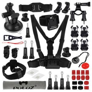 PULUZ 45 en 1 Accessoires Ultimate Combo Kit pour GoPro HERO5 /4 /3+ /3 /2 /1 SPKT179-20