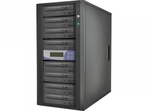 Tour de duplication 7 DVD autonome 7X-24X (8 graveurs 24X) LCD TOUMWY0052N-20