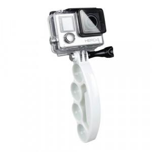 TMC Knuckles Fingers Grip avec vis pouce pour GoPro Hero 4 / 3+ / 3/2 (Blanc) ST437W4-20