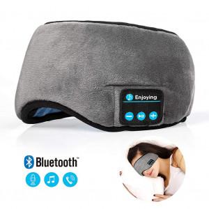 Bluetooth Coucher Voyage Dormir Casque Masque Pour Les Yeux Écouteurs Intégrés Microphone C8861166-20