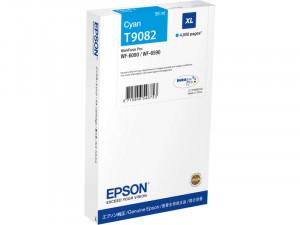 Epson T9082 Cyan XL Cartouche pour WorkForce Pro WF-6XXX ENCEPS0381-20