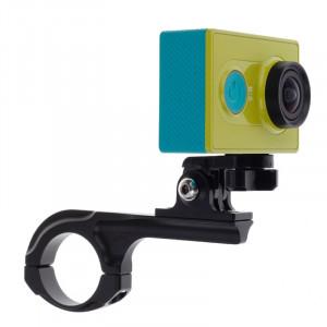 Support de guidon de vélo avec support de connecteur pour caméra sport Xiaomi Yi (noir) SS401B4-20
