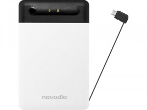 Novodio Power Card Batterie de poche 2500 mAh micro-USB noire BATNVO0104-20