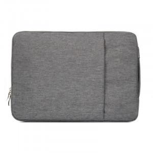 Sac à bandoulière portable universel à la mode de 11,6 pouces Sac à dos portables portable pour ordinateur portable pour MacBook Air, Lenovo et autres ordinateurs portables, taille: 32,2x21,8x2 cm (gris) SS010H-20