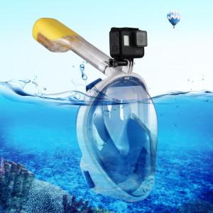 PULUZ I Version Équipement de plongée sous-marine Masque de plongée à sec complet pour GoPro HERO5 / 4/3 + / 3/2/1, taille S / M (bleu) SP215L9-20