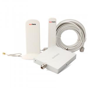 Sunhans Booster / répéteur de signal mobile Dual Band 900Mhz 2100Mhz voix + données 300m² SUN3G2100900M01-20