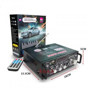 600W LCD Amplificateur HIFI Audio Stéréo Bluetooth FM 2CH AMP Voiture Maison USB SD Lecteur MP3 Comme indiqué C7521KU2E5830-20