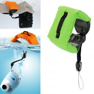 Bracelet de poignet flottant flottant submersible pour GoPro Hero 4 / 3+ / 3/2/1 / Powershot / D20 / D30 / Mini caméscope SJ4000 (Vert) SB750G6-20