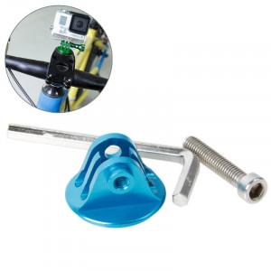 TMC Bike Head Mount avec Screw & Hex Screwdriver pour GoPro Hero 4 / 3+ / 3/2/1 (Bleu) ST620L8-20