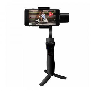 SOOCOO PS3 Stabilisateur de cardan portable Suivi de la mise au point antichoc de suivi d'objet pour Samsung iPhone Smartphone Action Camera, Noir C2364670-20