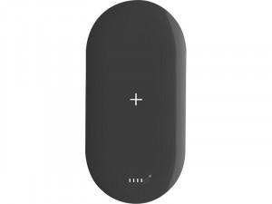 MIPOW Power Cube X2 Noir Batterie externe 5000 mAh sans fil Qi/Lightning/USB BATMIP0018-20