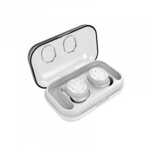 Écouteurs Touch Control Bluetooth 5.0 avec boîtier de chargeur Blanc C761450-20