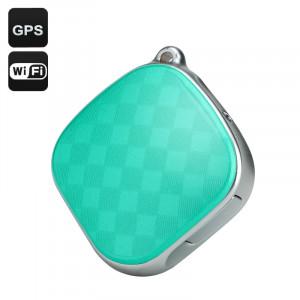 GPS Tracker + Locator GSM, Wi-Fi, LBS, Geo Fence, Appel d'urgence, suivi en temps réel, Dual Audio (Vert) CG0013-20