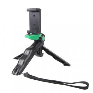 Grip portatif / mini trépied Steadicam Curve avec clip droit pour GoPro HERO 4/3 / 3+ / SJ4000 / SJ5000 / SJ6000 Sports DV / Appareil photo numérique / iPhone, Galaxy et autres téléphones mobiles (Vert) SG499G6-20