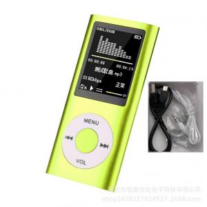 Lecteur de musique Radio HIFI Lecteur MP3 Écran LCD numérique Enregistrement vocal Lecteur FM vert C0O1MX4986-20
