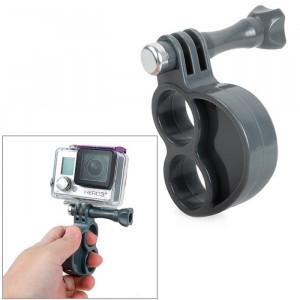 TMC Gen2 Fingers Grip avec vis pouce pour GoPro HERO4 / 3 + / 3/2/1 (Gris) ST608H4-20