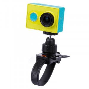 Support de trépied pour appareil photo avec sangle de tête / casque Casque pour GoPro HERO4 / 3+ / 2 & 1, XiaoMi YI, SJCAM SJ4000 / SJ5000 / SJ6000 / SJ7000 / Kjstar Sport Camera (Noir) SS444B3-20