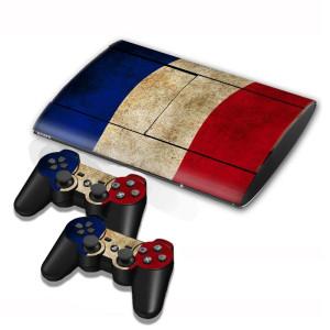 Autocollants en autocollant pour drapeau néerlandais pour console de jeux PS3 SA002Y-20
