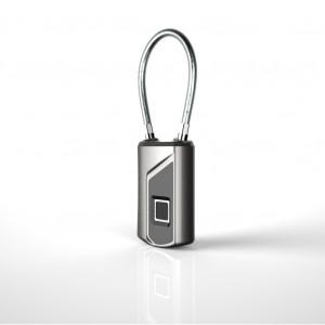 L1 empreinte digitale cadenas intelligent sécurité serrure de porte IP66 Déverrouillage sans clé étanche Argent C3378683-20