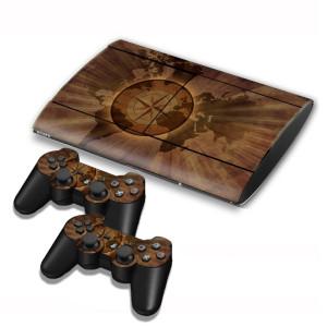 Autocollants pour autocollants série série pour console de jeux PS3 SA004W-20